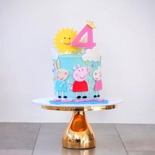 Peppa and Friends Cake